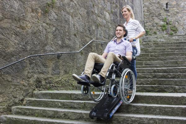 Monte escalier CHENILLETTE SOLAH