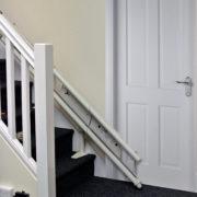 Rail monte escalier déplié SOLAH
