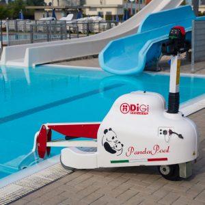 Elevateur mobile pour accès piscine SOLAH