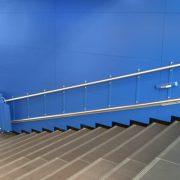 Plateforme oblique escaliers droits SOLAH