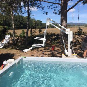 Elévateur de piscine fixe SOLAH